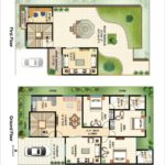 ASF City Karachi – 250 Sq.yds Bungalow Floor Plan
