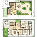 ASF City Karachi – 500 Sq.yds Bungalow Floor Plan