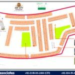 ASF City Karachi – Lilly B Block Map