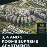 3, 4 and 5 Rooms Supreme Apartments | ASF Arabian Vista