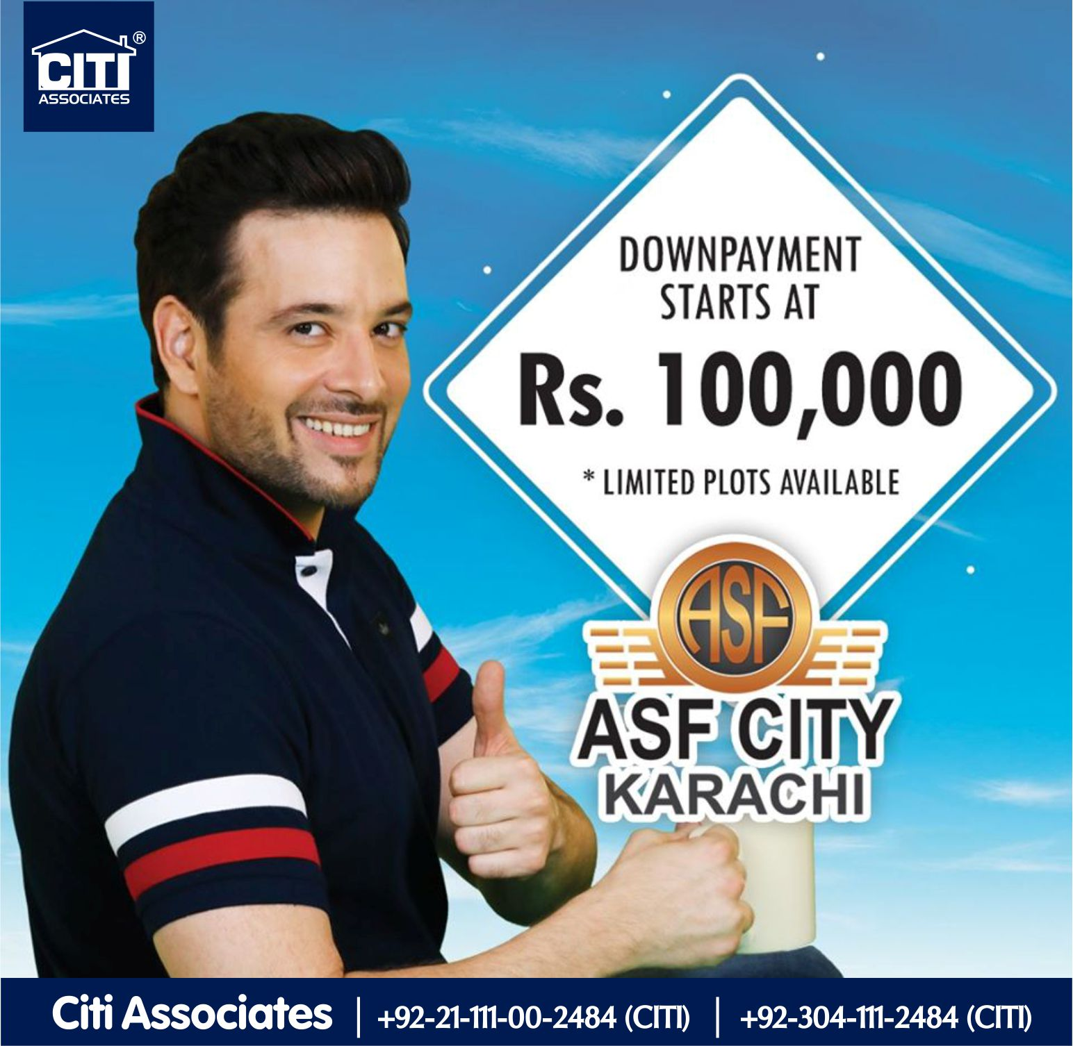 Downpayment-Starts-ASF-City-Karachi