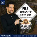 File Transfer is now OPEN at ASF City Karachi