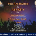 Musical Night | 31st December 2019 | ASF City Karachi