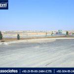 DG ASF Major General Zafar-ul-Haq, HI(M) Monitoring the Development Work | ASF City Karachi