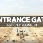 Entrance Gate | ASF City Karachi