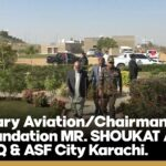Secretary Aviation/Chairman ASF Foundation MR. SHOUKAT ALI Visit ASFF HQ & ASF City Karachi.